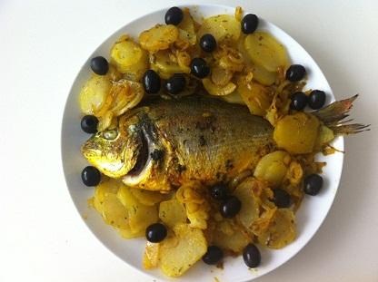 Fisch Ofen