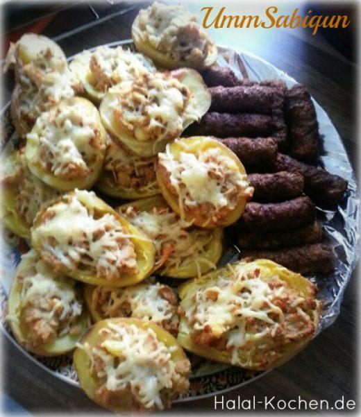 Gefüllt Kartoffeln