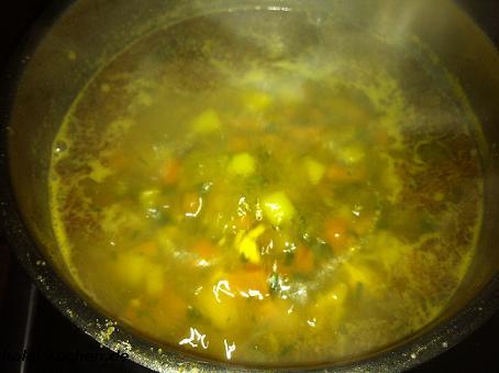 Gemüsesuppe hänchenbrust 4