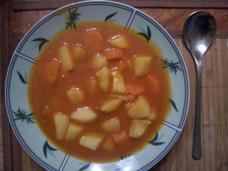 Kartoffel Möhren Eintopf