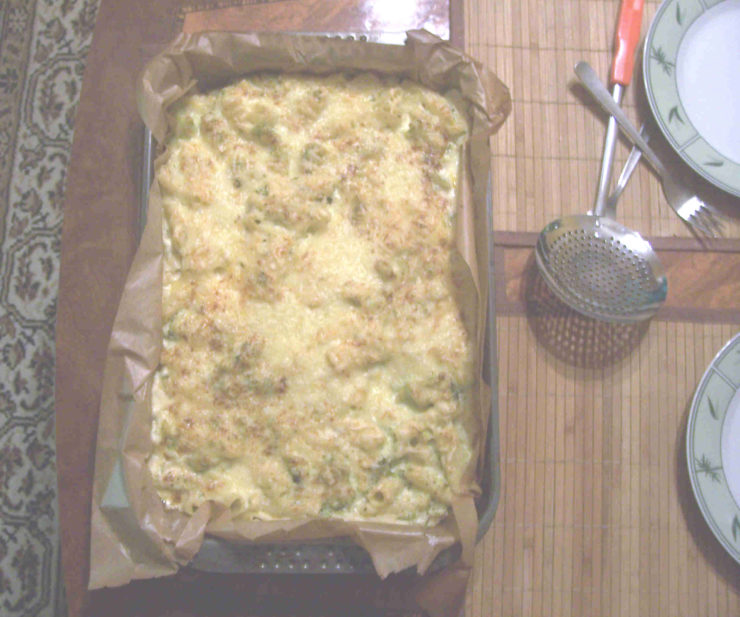 Nudel Broccoli Auflauf