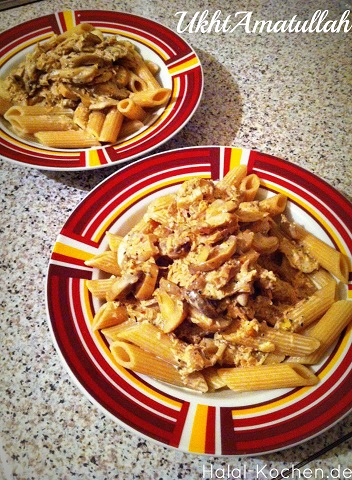 Penne championg sahne