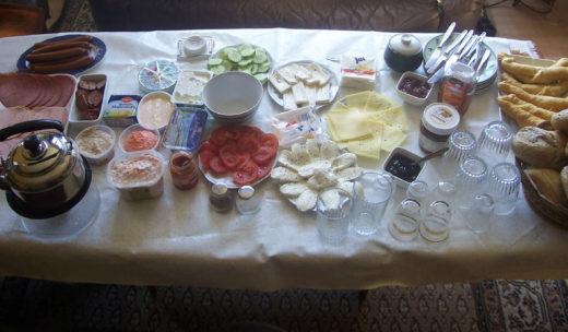 familienfrühstück