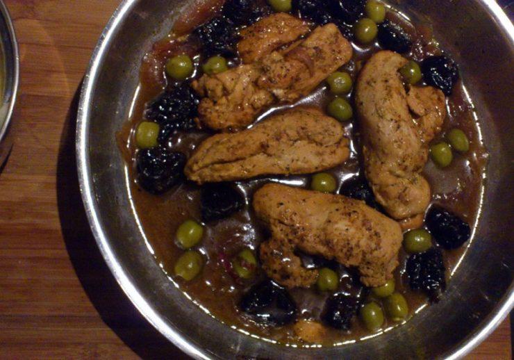 hähnchenbrust auf marokkanische art