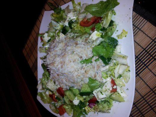 Reis-Thunfisch Salat